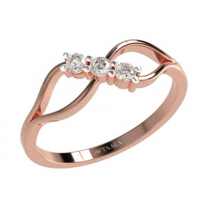 Rose Gold Daily Wear Ring