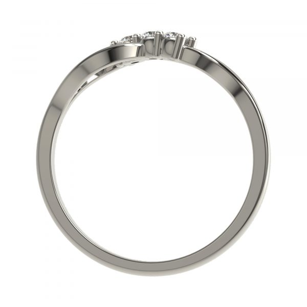 White Gold Daily Wear Ring