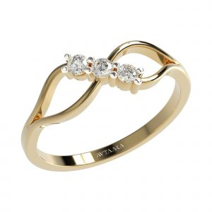 Yellow Gold Daily Wear Ring