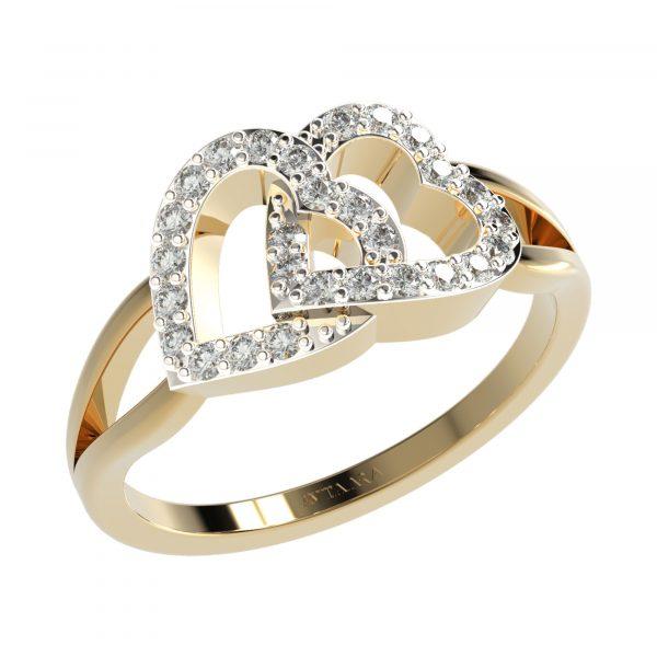 Yellow Gold Unique Ring Design