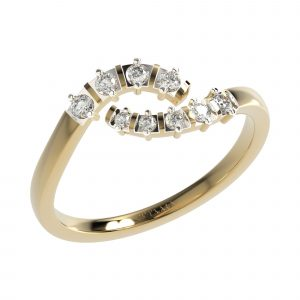 Yellow Gold Fancy Diamond Ring