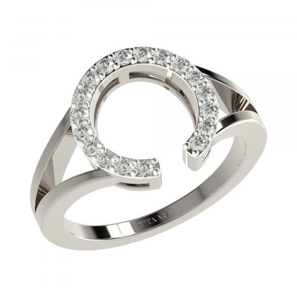 White Gold Wedding Diamond Bands