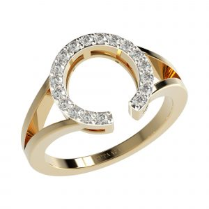 Yellow Gold Wedding Diamond Bands