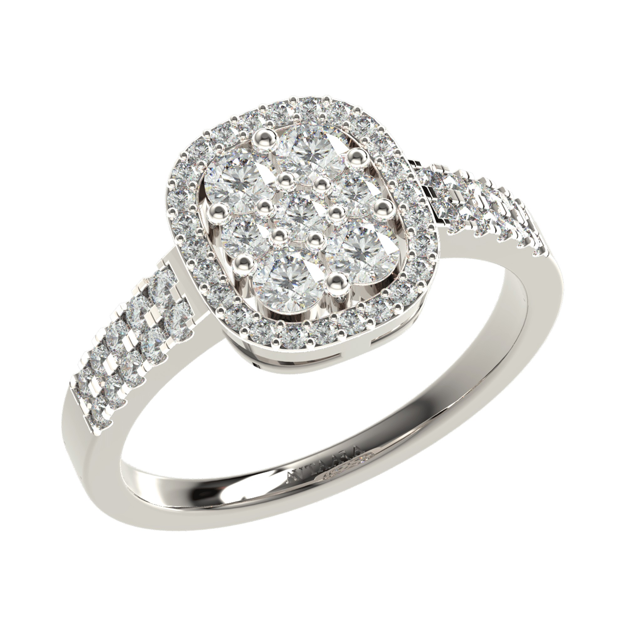 White Gold Diamond Engagement Rings | Diamond Rings