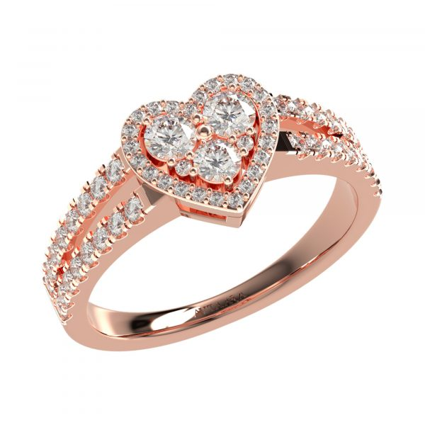 Rose Gold Classy Ring