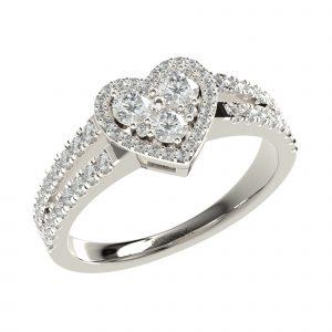 White Gold Classy Ring