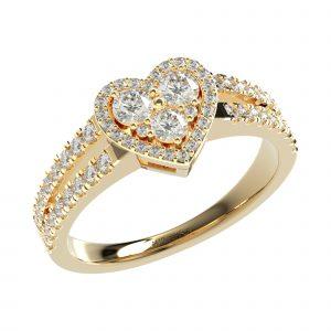 Yellow Gold Classy Ring