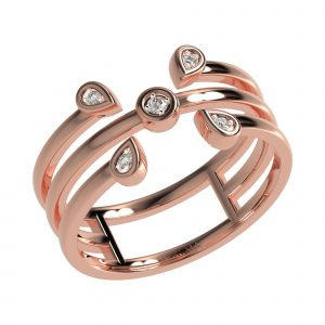 Rose Gold Elegant Ring
