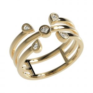 Yellow Gold Elegant Ring