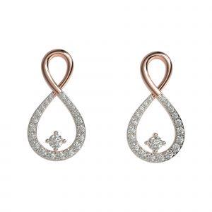 Sparkling Infinity Earrings