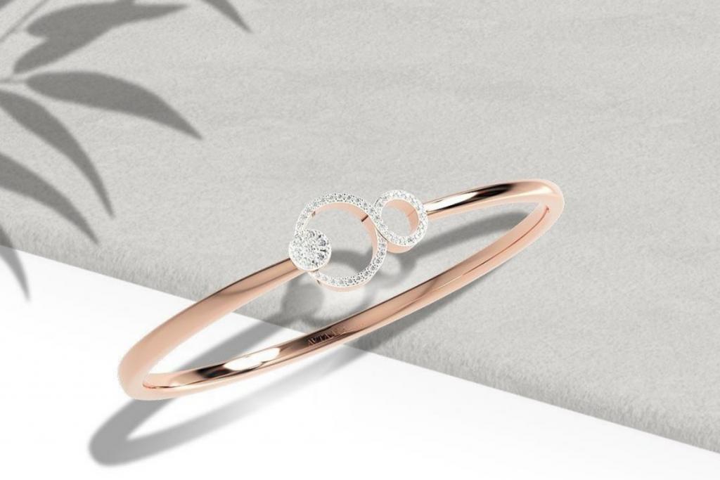 latest diamond bangles designs